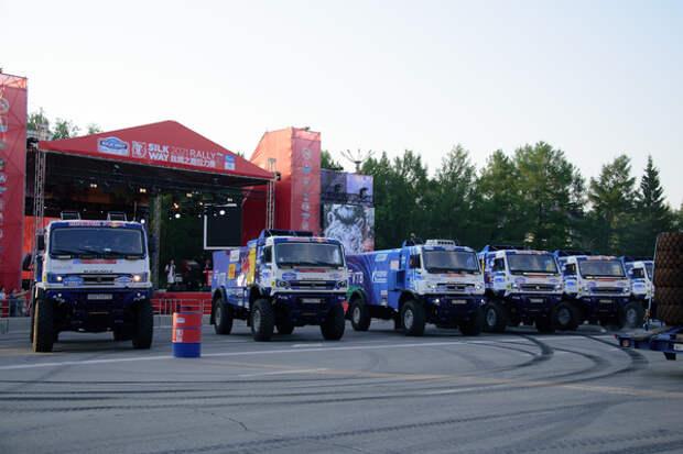 Международное ралли «Шелковый путь» стартовало в Омске