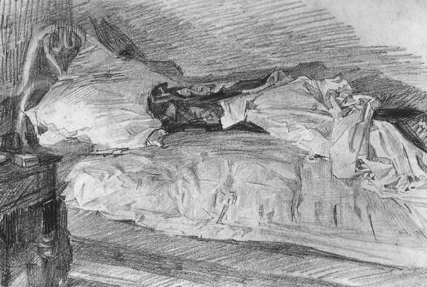 «Поверженный демон» Михаила Врубеля