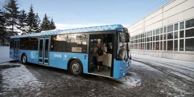 В Марфине на трех маршрутах начали помогать маломобильным пассажирам