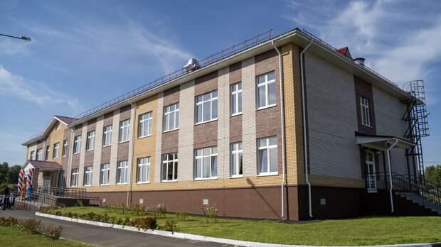 Новая школа открылась в Завьяловском районе