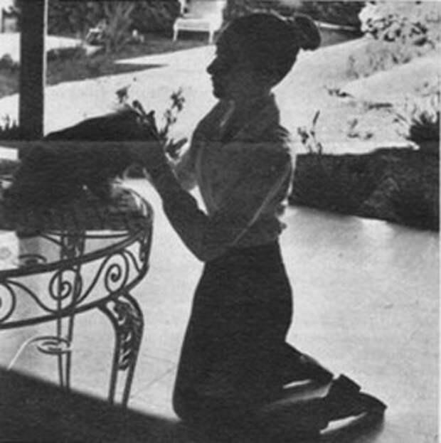 Одри Хепбёрн. Мексика. 1959 год.