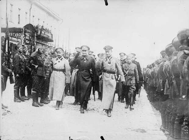 Колчак и лидеры союзников, 1919 г. <br>