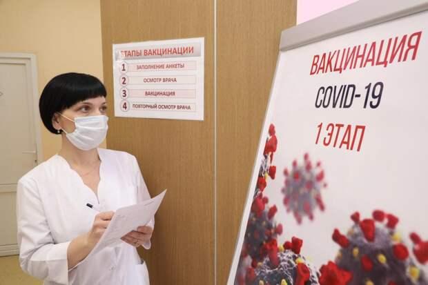 Почти 300 тысяч доз вакцины от коронавируса поступило в Нижегородскую область