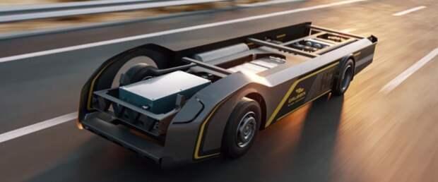 Новая платформа для водородных грузовиков обещает запас хода 800 км