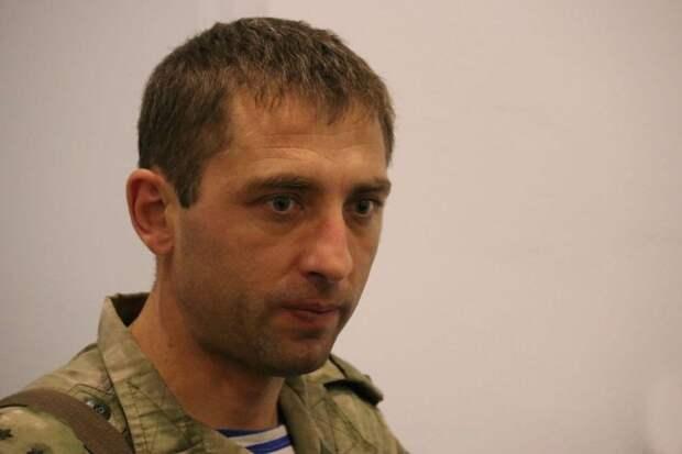Ополченец Дмитрий Гау объяснил проблемы с разведением сил в Петровском