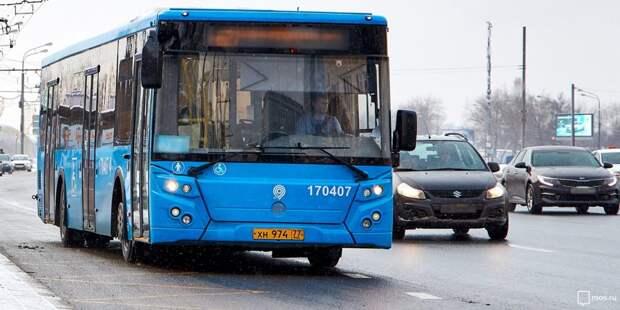 Маршрут автобуса м10 изменится после 7 часов вечера