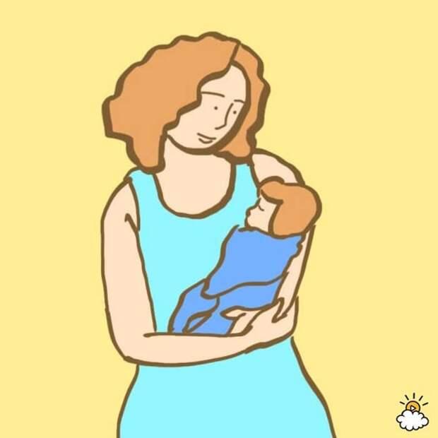 Мамы как суперчеловеки: 10 умопомрачительных фактов о беременности