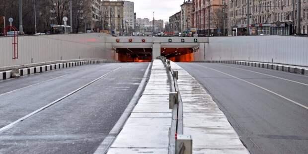 На въезде с Ленинградки в Коптево сняли скоростное ограничение