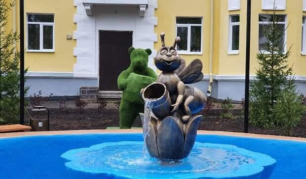 В Уфе разоблачили вандала, который сломал скульптуру пчелы в фонтане
