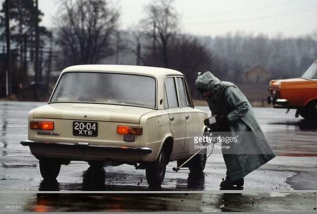 Как жил Киев во времена СССР.