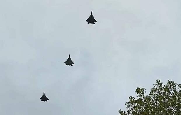 В США обсуждают необычный звук двигателей российского Су-57