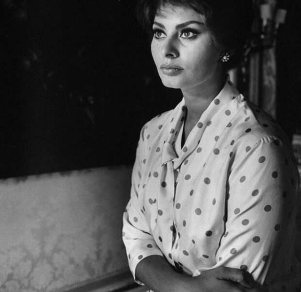 15 фотографий Софи Лорен, не предназначенных для публикации