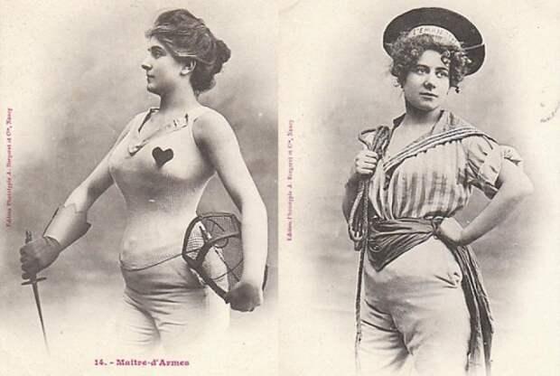 Как в начале XX века представляли «женщин будущего»