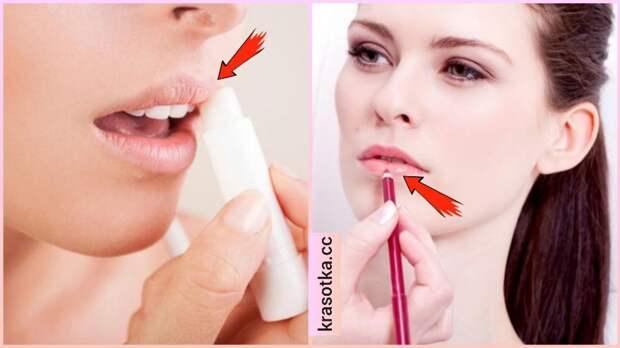 12 ошибок, которые допускает каждая вторая, когда красит губы
