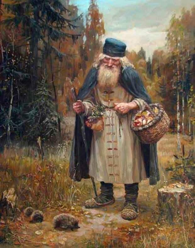 Художник славянист Андрей Алексеевич Шишикин