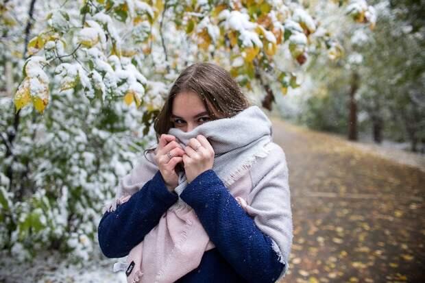 Неделя  24 – 31 октября в Москве начнется со снега, а завершится солнцем и потеплением