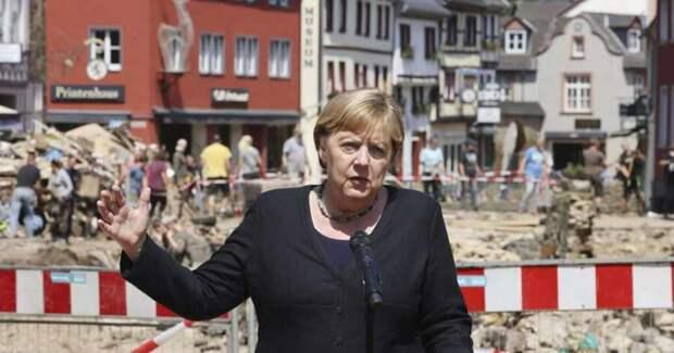 Средства на защиту от наводнений в Германии потратили на беженцев