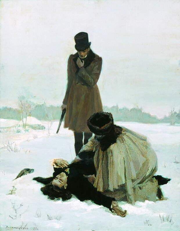 Кто Ленского убил?