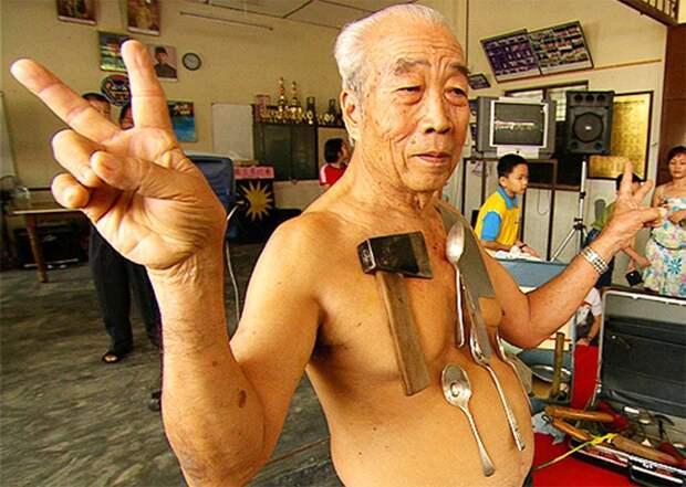 15. Человек-магнит –  Лью Тоу Лин интересное, суперспособности, факты интересное
