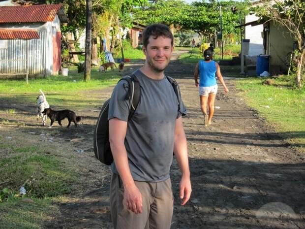 город без автомобиля Коста Рика