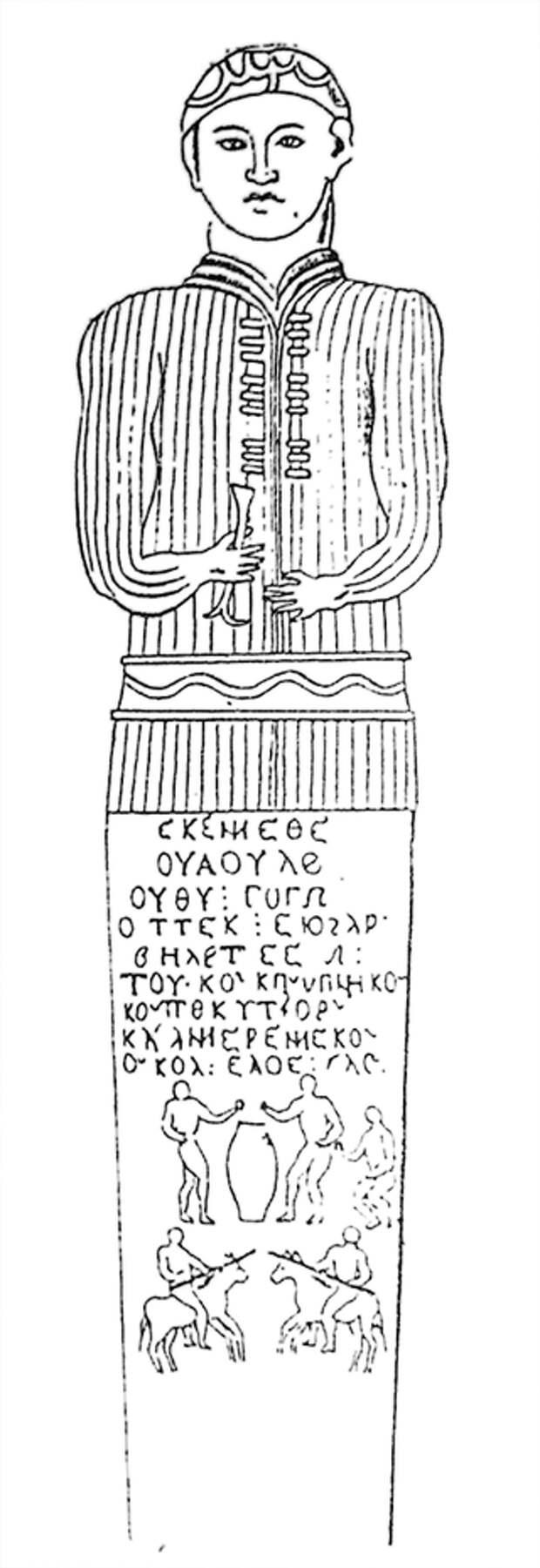 О датировке и культурной принадлежности изваяния Дука-бек