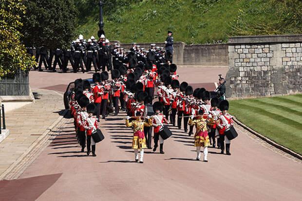 В Великобритании начались похороны герцога Эдинбургского Филиппа