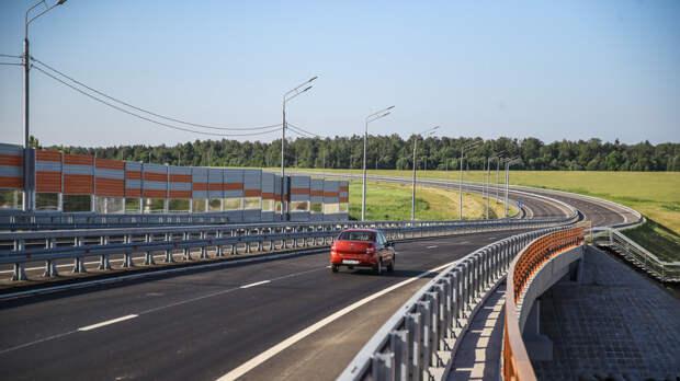Около 150 километров ЦКАД планируют ввести в эксплуатацию до конца 2020 года