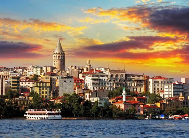 Стамбул - город на стыке Европы и Азии