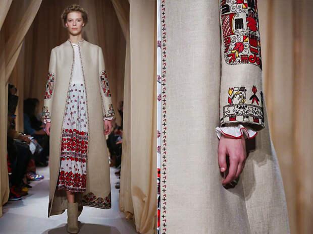 Новая этно-коллекция от Valentino.