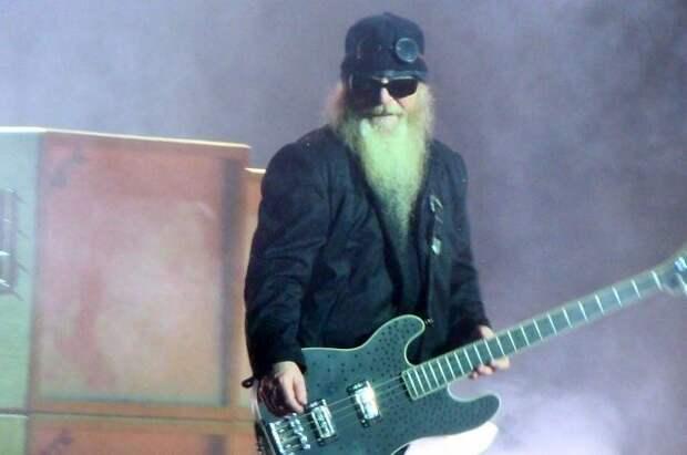 Умер бас-гитарист американской рок-группы ZZ Top Дасти Хилл