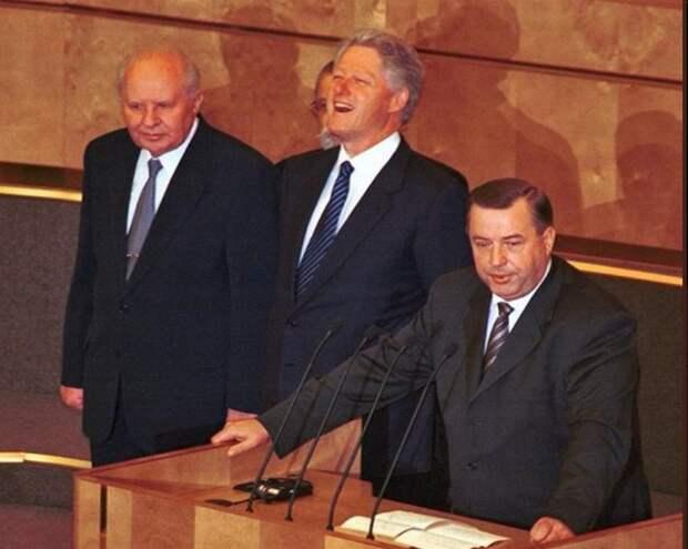 5 июня 2000 года. Впервые в Истории России Президент США выступил в Госдуме