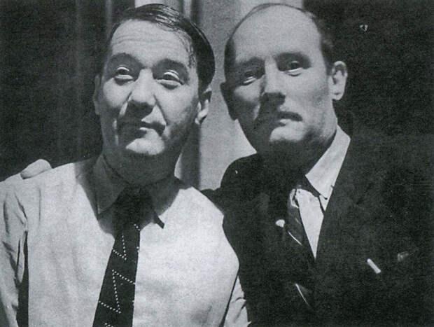 Лев Николаевич Гумилев и Орест Николаевич Высотский, 1957 год.