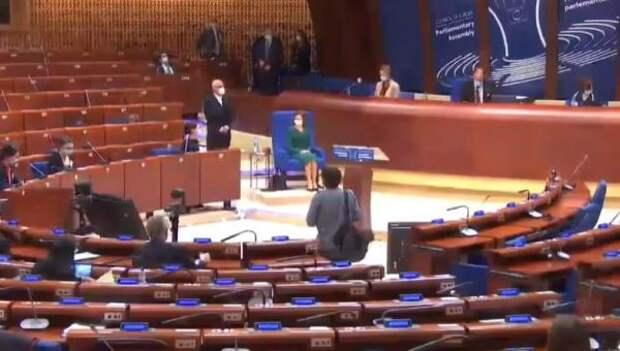 Майю Санду вПАСЕ «прижали» вопросами одемократии ипарламентаризме