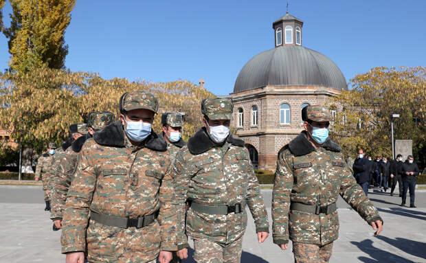 Армения приступила к реформам армии после военных действий в Карабахе