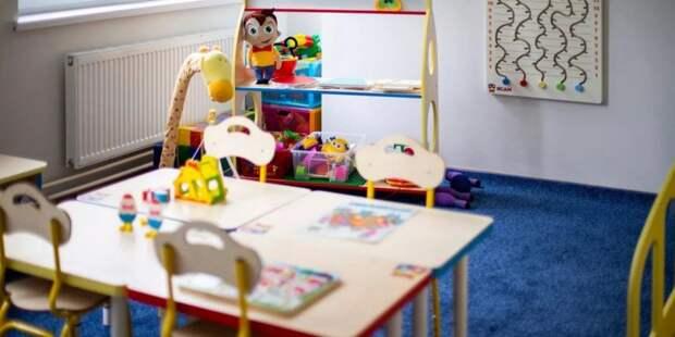 Собянин открыл новый детский сад на севере Москвы. Фото: mos.ru