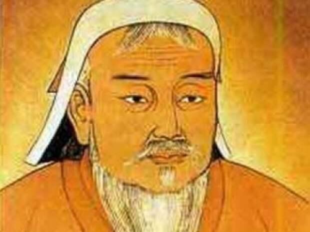 """Рашид-ад-Дин:""""...Чингисхан был высокий,с белой кожей и большой рыжей бородой...в роду у него все были светловолосые с голубыми глазами...у самого глаза были желто-зеленые,как у рыси.."""" история, монголы"""