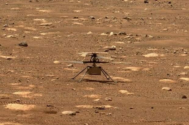 Первый полет вертолета-дрона на Марсе запланирован на 19 апреля