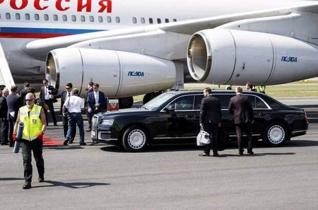 Западные СМИ сравнили неуязвимость «Ауруса» Путина и «Кадиллака» Байдена