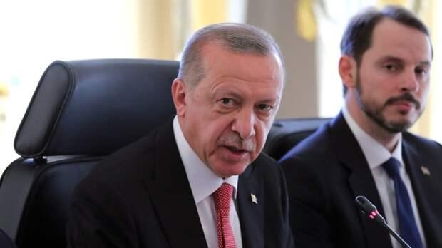 Эрдоган рассказал о пределах зоны безопасности Турции на границе с Сирией