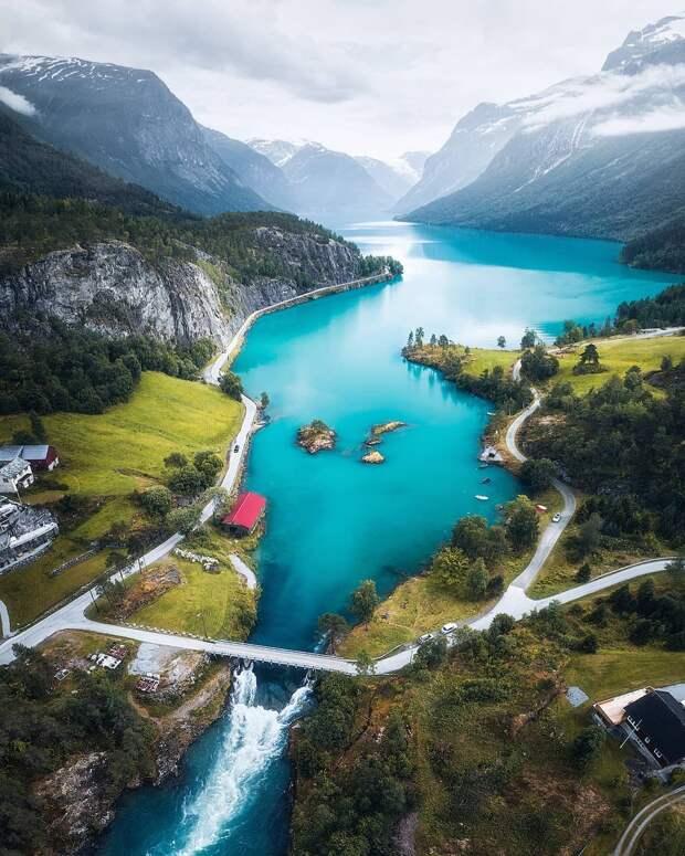 Сказочный мир Скандинавии на снимках Фредрика Штремме (25 фото)