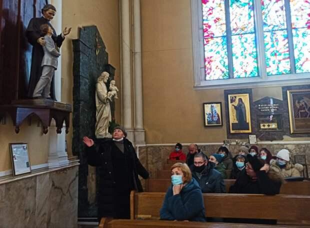 Обзорная экскурсия по Римско-католическому кафедральному собору Непорочного зачатия Пресвятой Девы Марии в Москве
