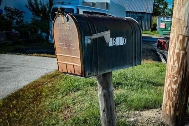 Американский почтовый ящик (9 фото)