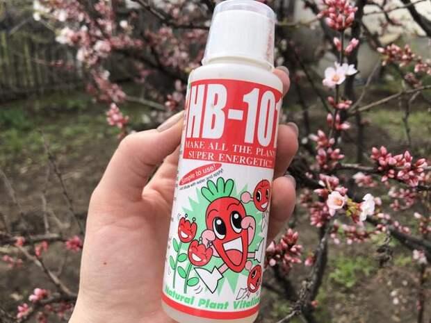 Виталайзер HB-101 стимулятор роста, в составе которого натуральные вещества
