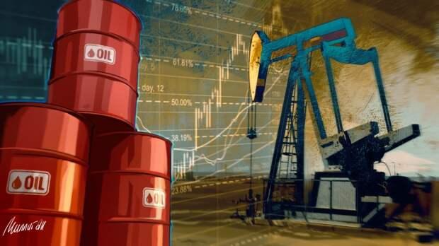 Цена нефти марки Brent превысила 76 долларов за баррель