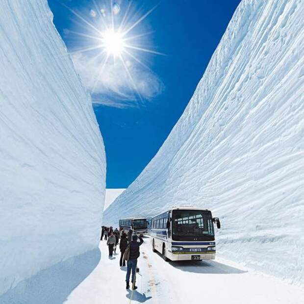 Путешествие сквозь снежные завалы