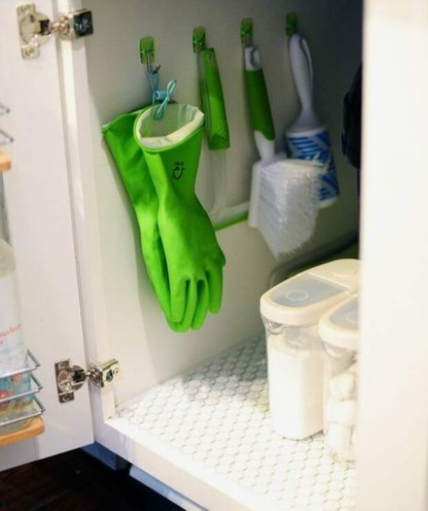 Идеи хранения вещей в ванной комнате