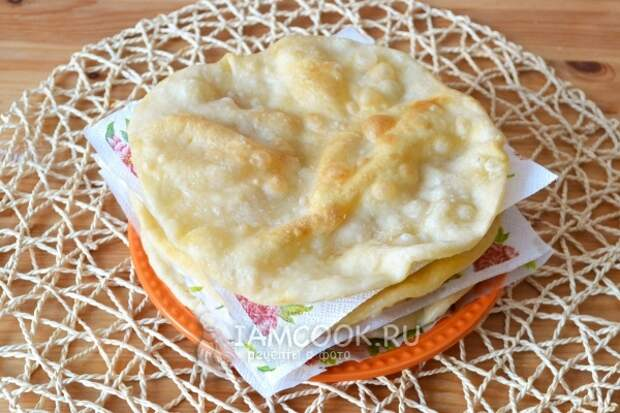 Рецепт казахских лепёшек Шельпеки