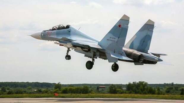 Новые истребители Су-30СМ2 молучит российская морская авиация