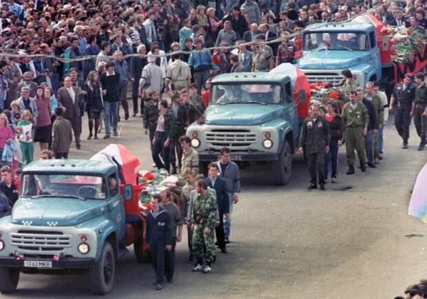 Августовский путч: хроники государственного переворота и антиконституционного захвата власти в 1991 году
