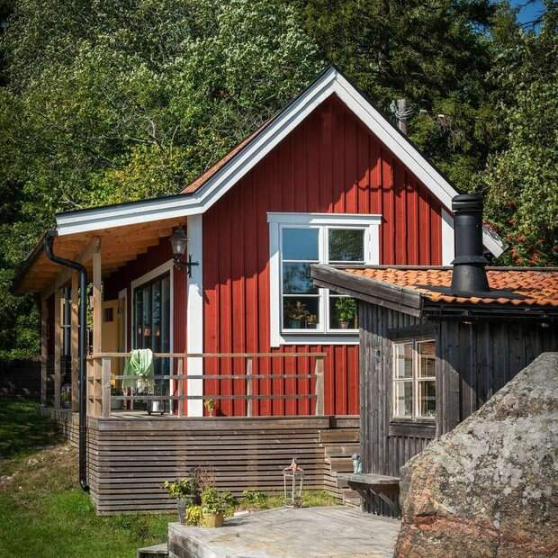 Хочу здесь жить: площадь этого дачного домика — всего 30 м²